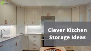 lower kitchen cabinet storage ideas clever kitchen storage ideas better builders