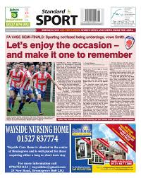 Online Edition The Droitwich Standard
