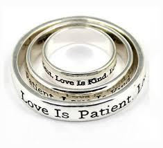 religious jewelry 4030295 3 scarf ring set christian scripture religious jewelry