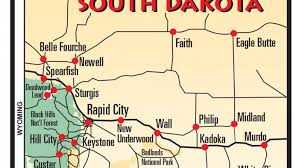 south dakota road map printable map of south dakota search heading