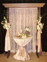 Screen Decoration At Back Of Altar Wedding Backdrops Backgrounds Decorations Columns