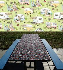 fitted picnic table covers elastic table cover fitted picnic table cloth folding table