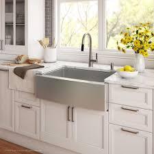 kitchen sink furniture kraus 30 inch farmhouse single bowl stainless steel kitchen sink