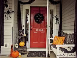 Front Door Halloween Decoration Ideas Front Doors Printable Coloring Hallowesen Front Door Decor 140