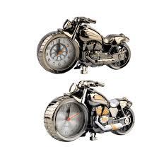 cool house clocks 2017 new creative motorcycle motorbike pattern alarm clock desk
