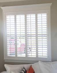simple plantation shutters on patio doors and elegant are the