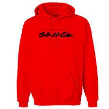 apparel be a savage hoodie
