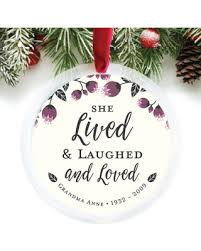 personalized remembrance gifts savings on personalized ornament memorial gifts in memory