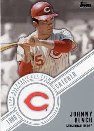 Johnny Bench Fingers Johnny Bench 30 Year Old Cardboard