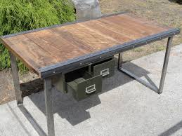Modern Industrial Desk by Pleasing Industrial Office Desk On Home Design Ideas With