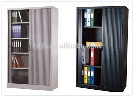 file and storage cabinet workspace tambour door cabinets sliding doors office cupboard steel