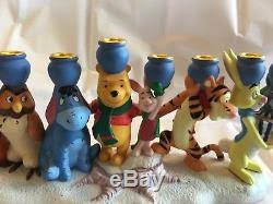 winnie the pooh menorah winnie the pooh and friends menorah hanukkah disney