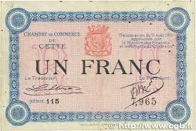 chambre de commerce sete 1 franc regionalism and miscellaneous cette actuellement
