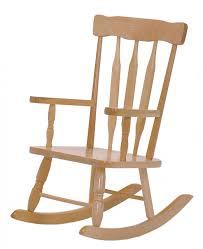 chaise berçante en bois pour enfant 425 jb poitras