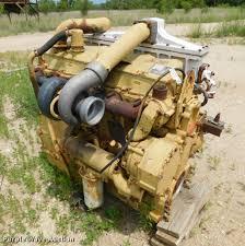 caterpillar 3406 six cylinder turbo diesel engine core ite