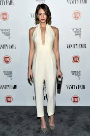 gucci jumpsuit arrow s willa looked in a perfectly tailored