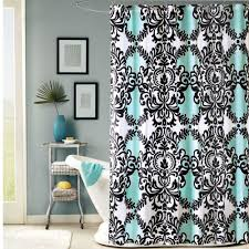 black and white fabric shower curtain showers decoration blue shower curtains fabric shower curtain 3d submarine world smart tips of using cloth shower curtains homesfeed blue and tan shower curtain