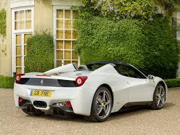Ferrari 458 Italia White - ferrari 458 italia white parking hd wallpaper background uhd 2k