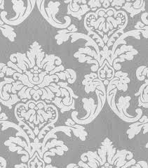 Black Damask Wallpaper Home Decor by Waverly Sheer Fabric 54