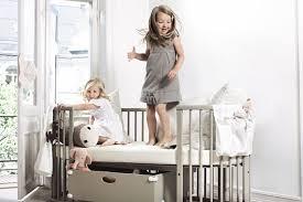 Stokke Mini Crib Sleepi System1 And Mattress Gray Cribs