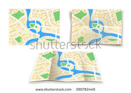 paper maps paper map stock images royalty free images vectors