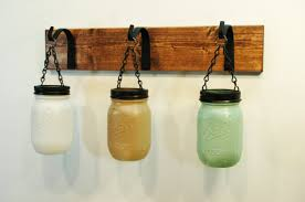 Hydrangea Bathroom Accessories by Wall Decor Painted Mason Jar Kitchen Decor Bathroom Decor