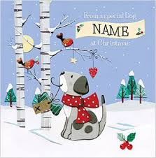 christmas cards to u0026 from pets funky pigeon