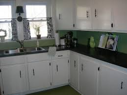 oil based paint for cabinets is the final process we used to the cabinets are over 50 years old they were painted inside and out with valspar oilbased ultra white high gloss paint before we moved