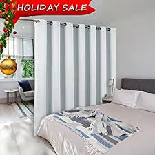 Patio Door Thermal Blackout Curtain Panel Room Dividers Curtains Screens Partitions Nicetown
