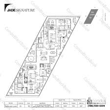 double master bedroom floor plans jade signature unit lph550 condo for sale in sunny isles beach