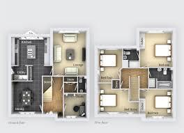 one bloor floor plans bloor homes castle donington planning home plan