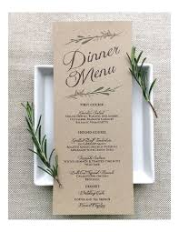 wedding planner terms and conditions template menu template free printable menu samples in pdf word excel wedding menu template 02