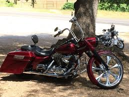2005 harley davidson flhr i road king red hutto texas