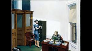 the hopper painting u0027office at night u0027 inspires a serial online novel