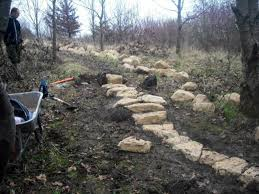 How To Build A Rock Garden Rock Garden Mtb Feature Mountain Biking Swindon