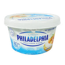 philadelphia light cream cheese spread kraft philadelphia cream cheese light 80 less fat fairprice