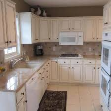 white glazed kitchen cabinets oak cabinets to white enamel with glaze painterati