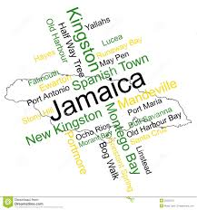 Blank Outline Map Of Jamaica by Jamaica Outline Map Stock Photography Image 4360482