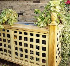 How To Design Home Hvac System 15 Creative Ways To Hide Your Outside Air Conditioner