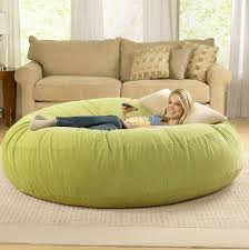bean bag couch bed with blanket home design ideas