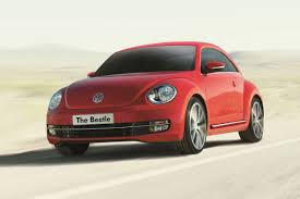 volkswagen beetle front view volkswagen beetle 1 2 tsi updated with two new trims price from