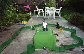 the birth of crawfox mini golf