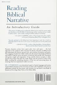 reading biblical narrative an introductory guide j p fokkelman