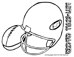 football coloring page gallery of football helmet coloring pages