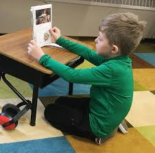 Picture Of Student Sitting At Desk by No Grade Is Too Early For Flexible Seating Edutopia