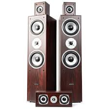 4 1 home theater 5 0 home theatre system walnut tronios
