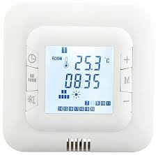 digital underfloor heating thermostat suitable for almost all