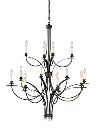 12 Light Chandeliers F1891 8 4orb 12 Light Multi Tier Chandelier Rubbed Bronze
