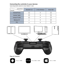 connect ps3 controller to android gamesir t1 bluetooth wireless controller android gamepad wired