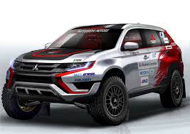 nissan dakar is mitsubishi preparing for the dakar rally with this outlander phev